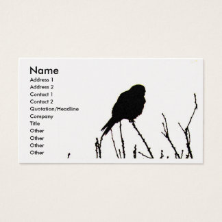 Kestrel Business Card