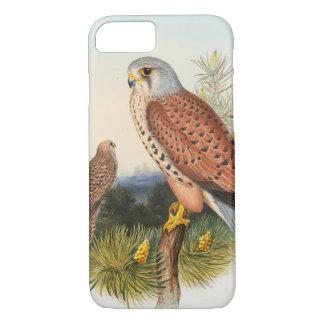 Kestrel Falcon John Gould Birds of Great Britain iPhone 7 Case