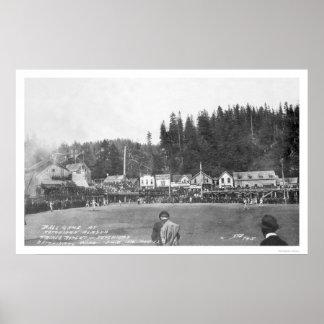 Ketchikan Baseball Game 1916 Poster