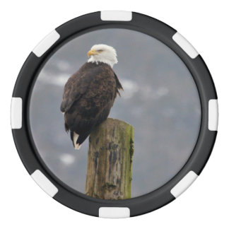 Ketchikan eagle poker chip