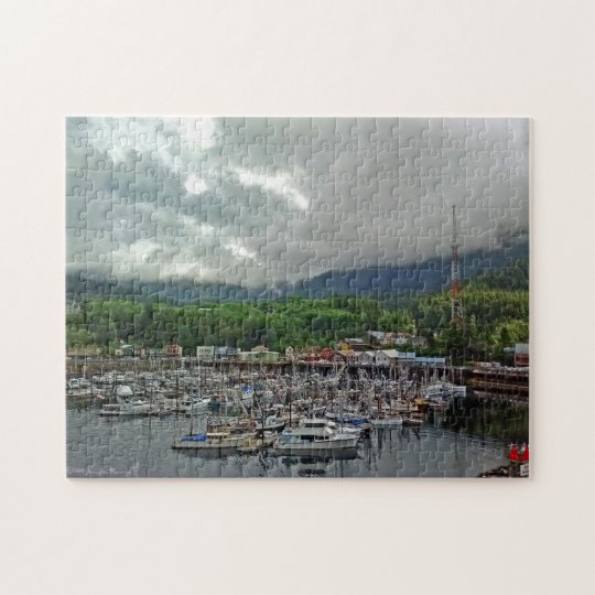 Ketchikan Harbour Puzzle