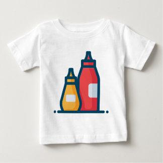 Ketchup and Mustard Baby T-Shirt