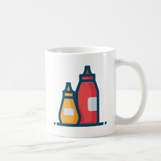Ketchup and Mustard Coffee Mug