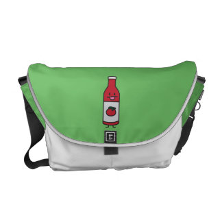 Ketchup Bottle Tomato Sauce Table condiment fancy Courier Bag