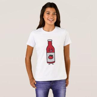 Ketchup Bottle Tomato Sauce Table condiment fancy T-Shirt