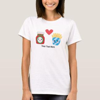 Ketchup & Fries (customizable) T-Shirt