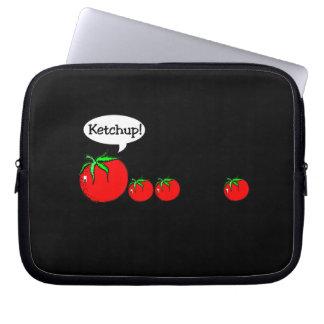Ketchup Joke Electronics Bag Laptop Sleeve