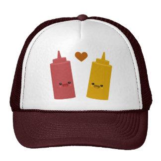 Ketchup & Mustard Friends Trucker Hats