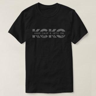 Keto Mantra KCKO Cool Logo T-Shirt