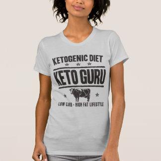 KETOGENIC DIET: Keto Guru - Eat Low Carb, Onyx Cow T-Shirt