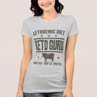 KETOGENIC DIET: Keto Guru High Fat Life, Camo Cow T-Shirt