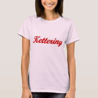Kettering Ladies Baby Doll (Fitted) T-Shirt