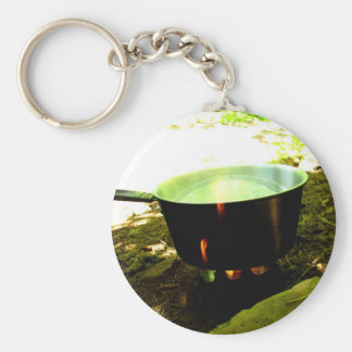 Kettle Burn Key Ring