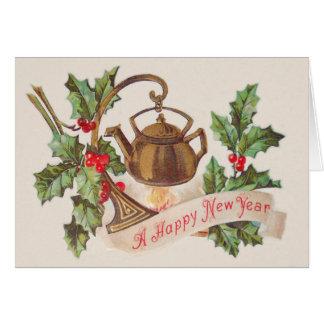Kettle Fire Holly Card