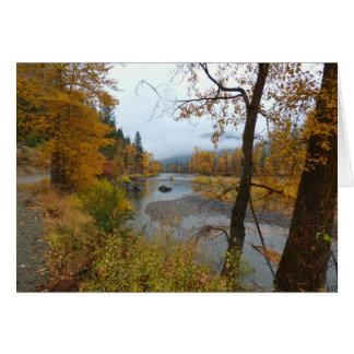 Kettle River Autumn Card