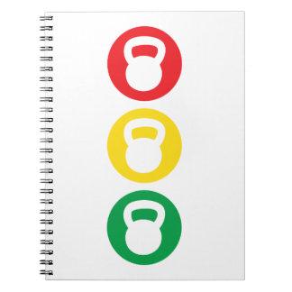 Kettlebell Traffic Light - Ready Set Go Notebook