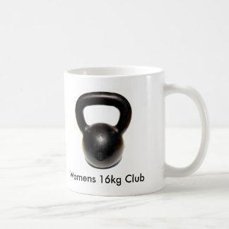 Kettlebell, Womens 16kg Club Coffee Mug
