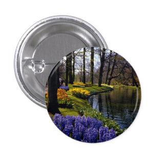 Keukenhof Gardens, Lisse, Netherlands 3 Cm Round Badge