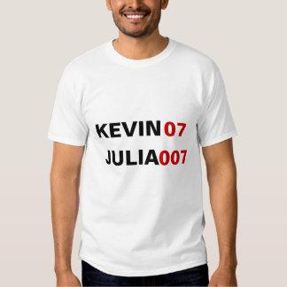 KEVIN07 JULIA 007 T SHIRT