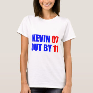 Kevin 07 Out by 11 Ladies t-shirt