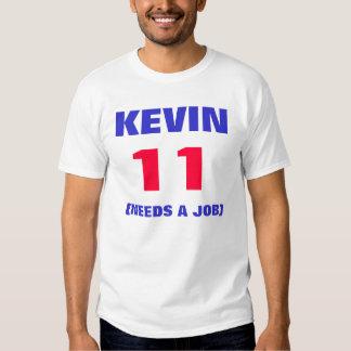 KEVIN, 11, (NEEDS A JOB) T-SHIRTS