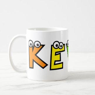 Kevin Basic White Mug
