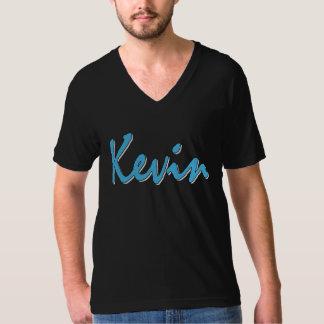 Kevin (blue on black) T-Shirt