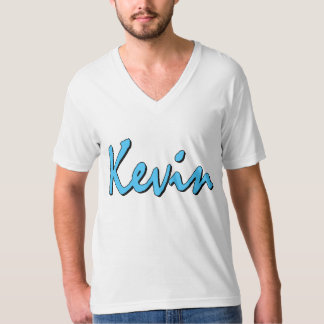 Kevin (blue on white) T-Shirt