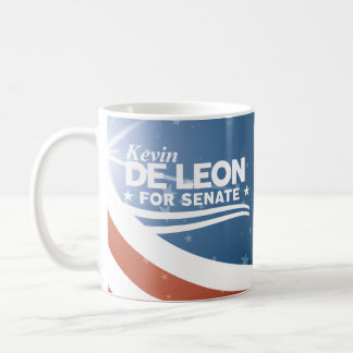 Kevin de Leon for Senate Coffee Mug