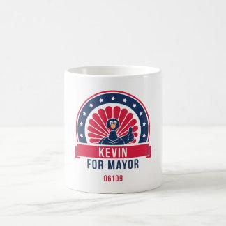 Kevin for Mayor 06109 Mug