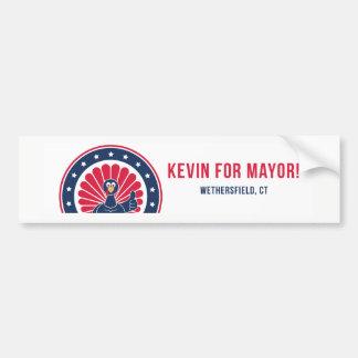 Kevin for Mayor of Wethersfield Bumper Sticker