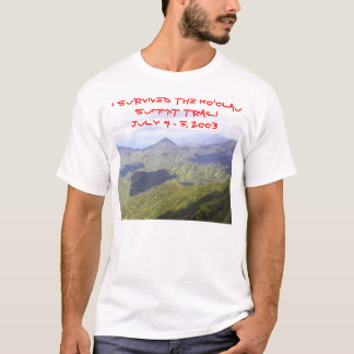 Kevin T-shirt Ko'olau Summit Trail