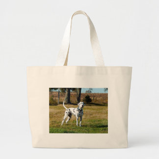 Kevin the Dalmatian Large Tote Bag