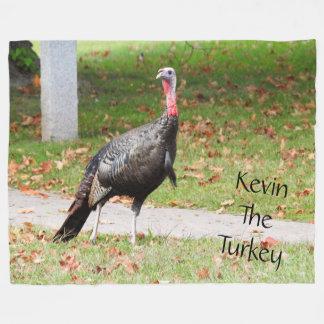 Kevin The Turkey - Old Wethersfield , CT Fleece Blanket