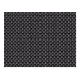 Kevlar Carbon Fiber Material Postcard