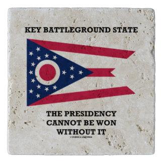 Key Battleground State Presidency Ohio State Flag Trivets