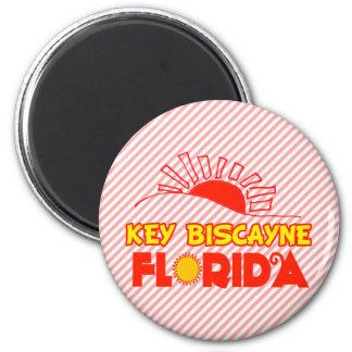 Key Biscayne, Florida 6 Cm Round Magnet