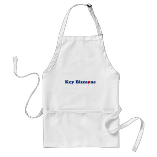 Key Biscayne with Heart Adult Apron