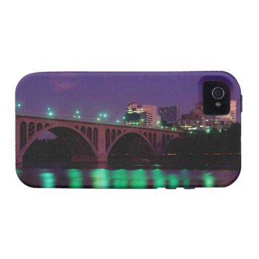 Key Bridge crossing the Potomac River iPhone 4 Cases