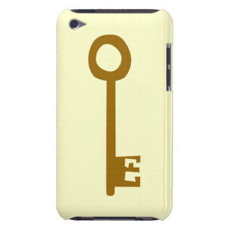 Key. Brown Key on Cream. Case-Mate iPod Touch Case