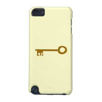 Key Brown Key on Cream iPod Touch 5G Cases