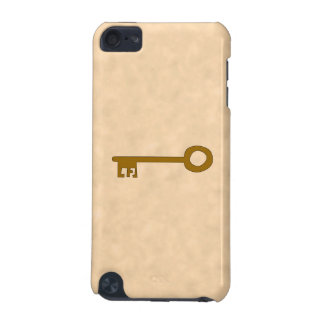 Key Brown Key on Parchment Effect iPod Touch 5G Cover