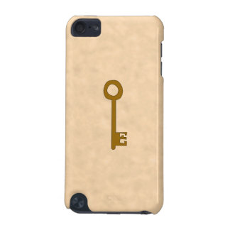 Key Brown Key on Parchment Effect iPod Touch 5G Cases