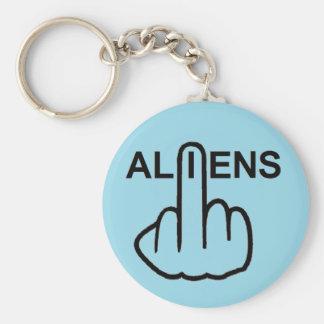 Key Chain Aliens Flip