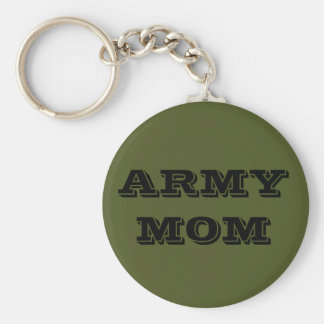 Key Chain Army Mom