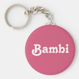 Key Chain Bambi