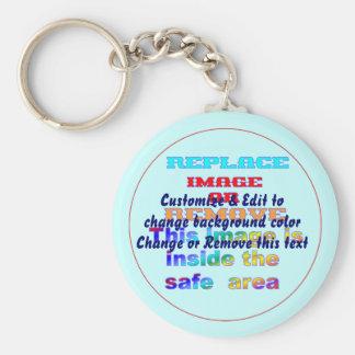 Key chain Basic Button Dia: 2.25 inches