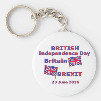 Key Chain British Independence Day