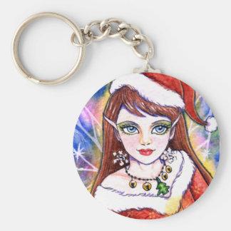 Key Chain Christmas Fairy Fantasy by Ann Howard