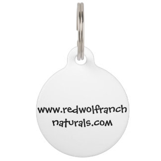 Key Chain; Dog Tag with editable back